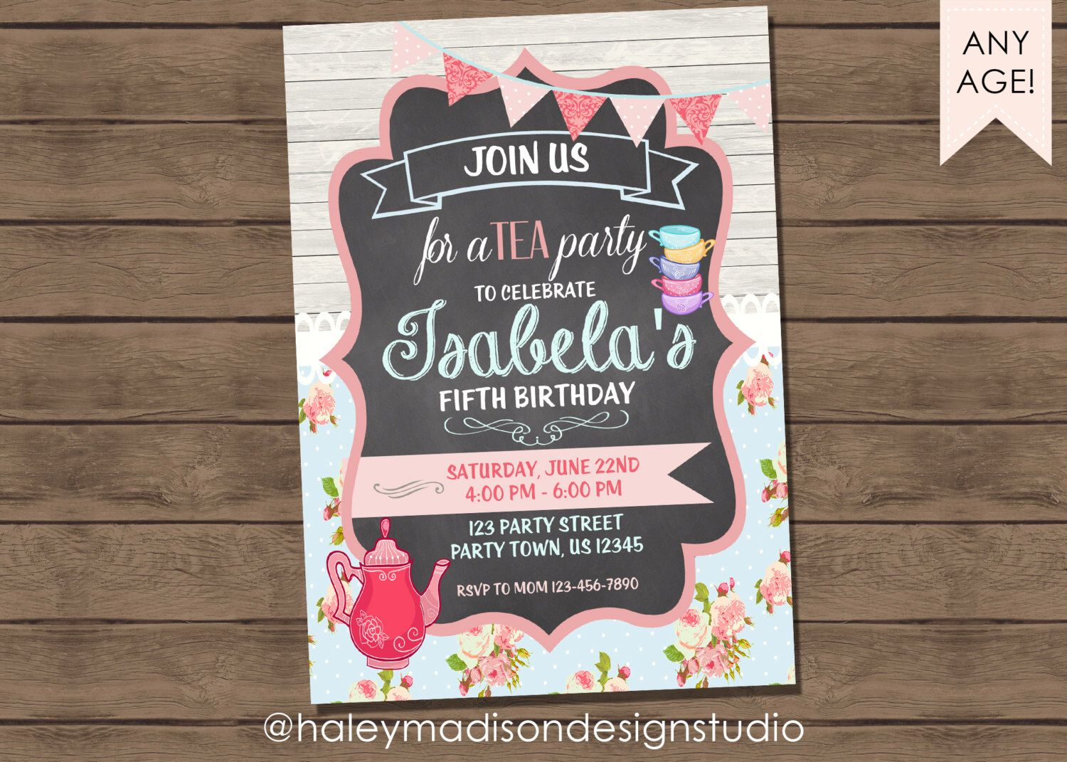mad hatter teparty invitations pinterest%0A Birthday party ideas
