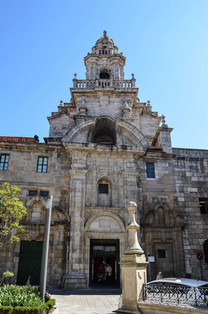 Iglesia Convento De Santo Domingo A Coruña Spain Arquitectura Antigua Catedral Monumentos