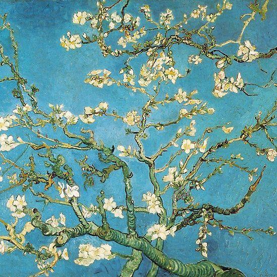 Vincent van Gogh, Blossoming Almond Tree Framed Art Print