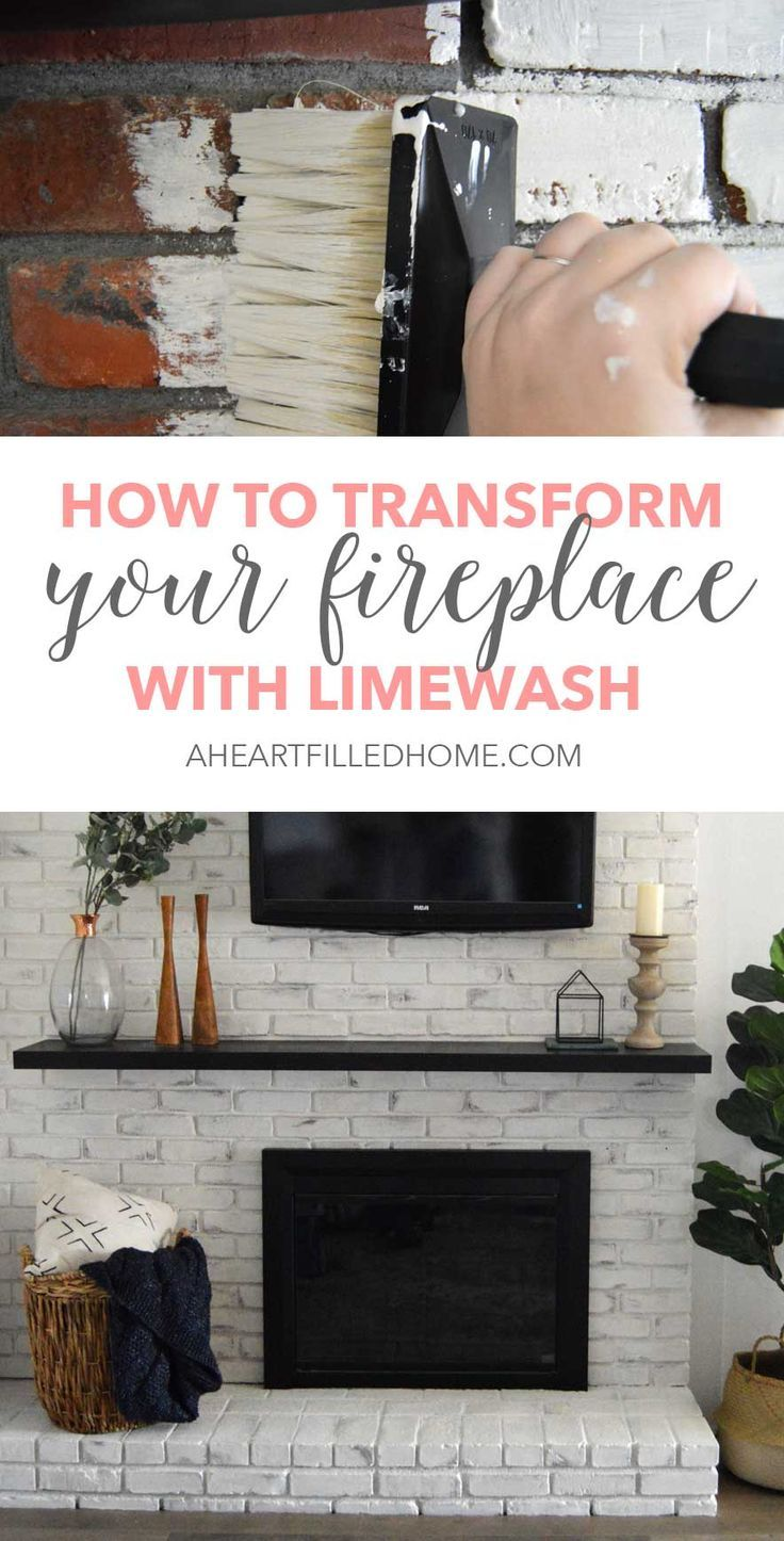 Tired of your dingy old fireplace? Learn how to totally