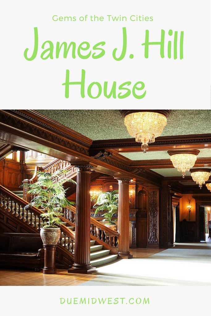twin cities gems james j hill house travel minnesota house rh pinterest com
