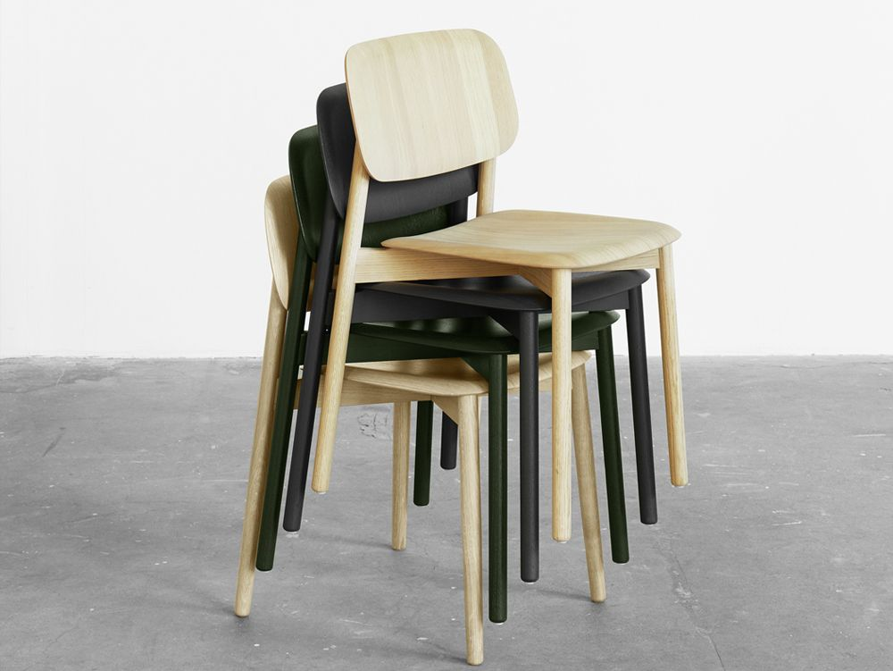 Hay Soft Edge Chair Wooden Frame Hay Soft