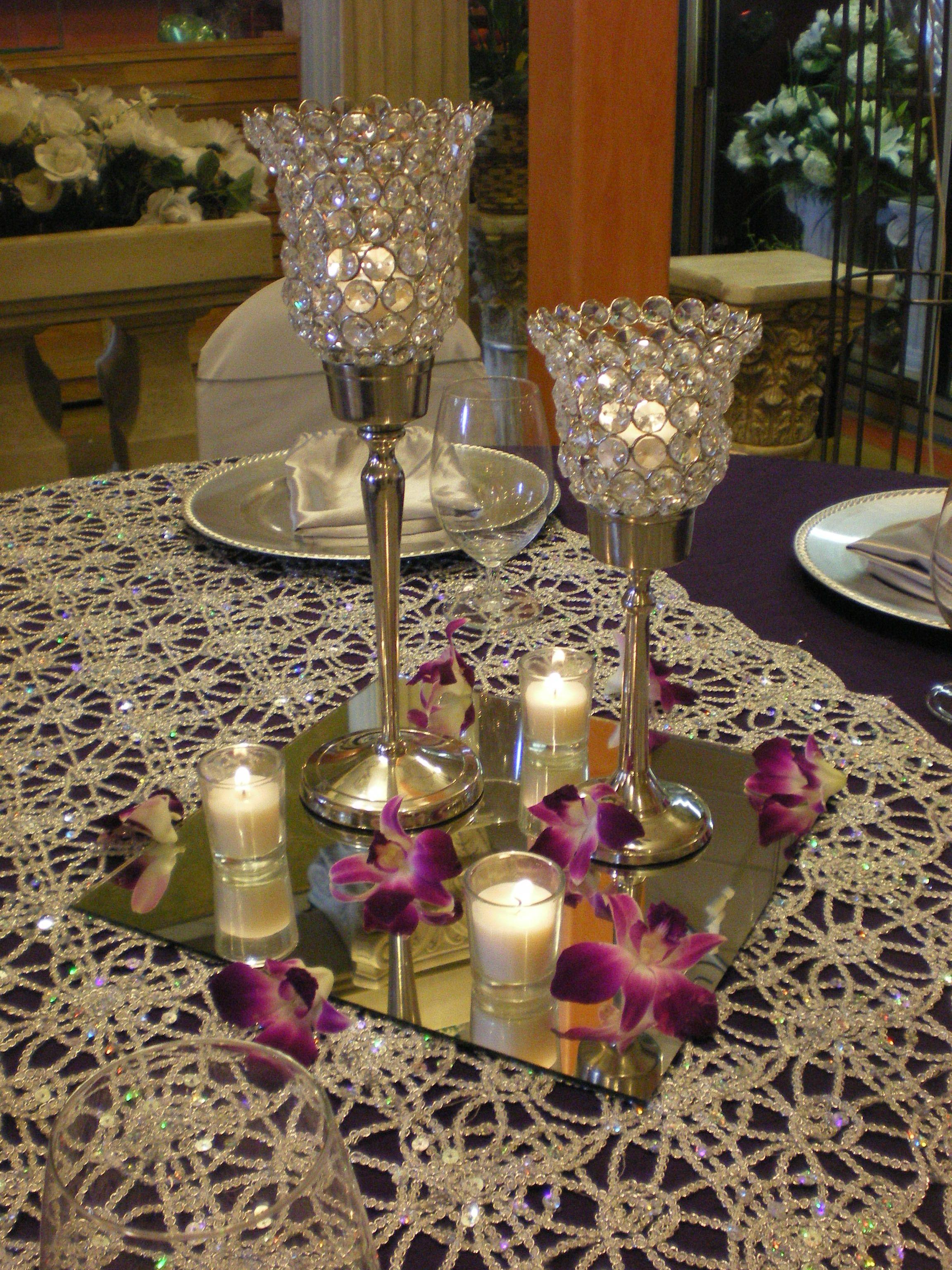 votive candle centerpiece guest tables centerpieces centerpieces rh pinterest com