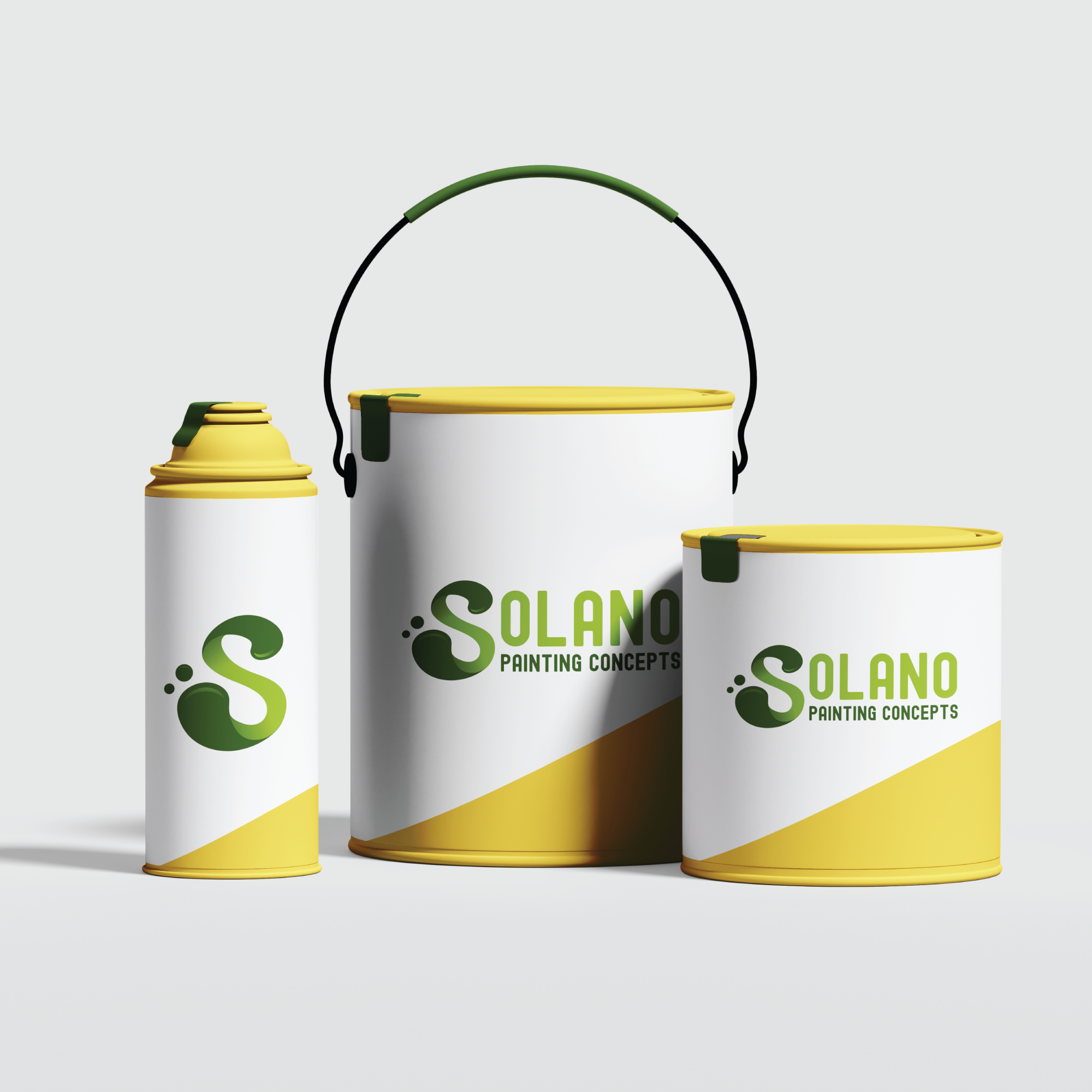 paint cans branding mock up for professional painter brand on top 10 interior paint brands id=62701