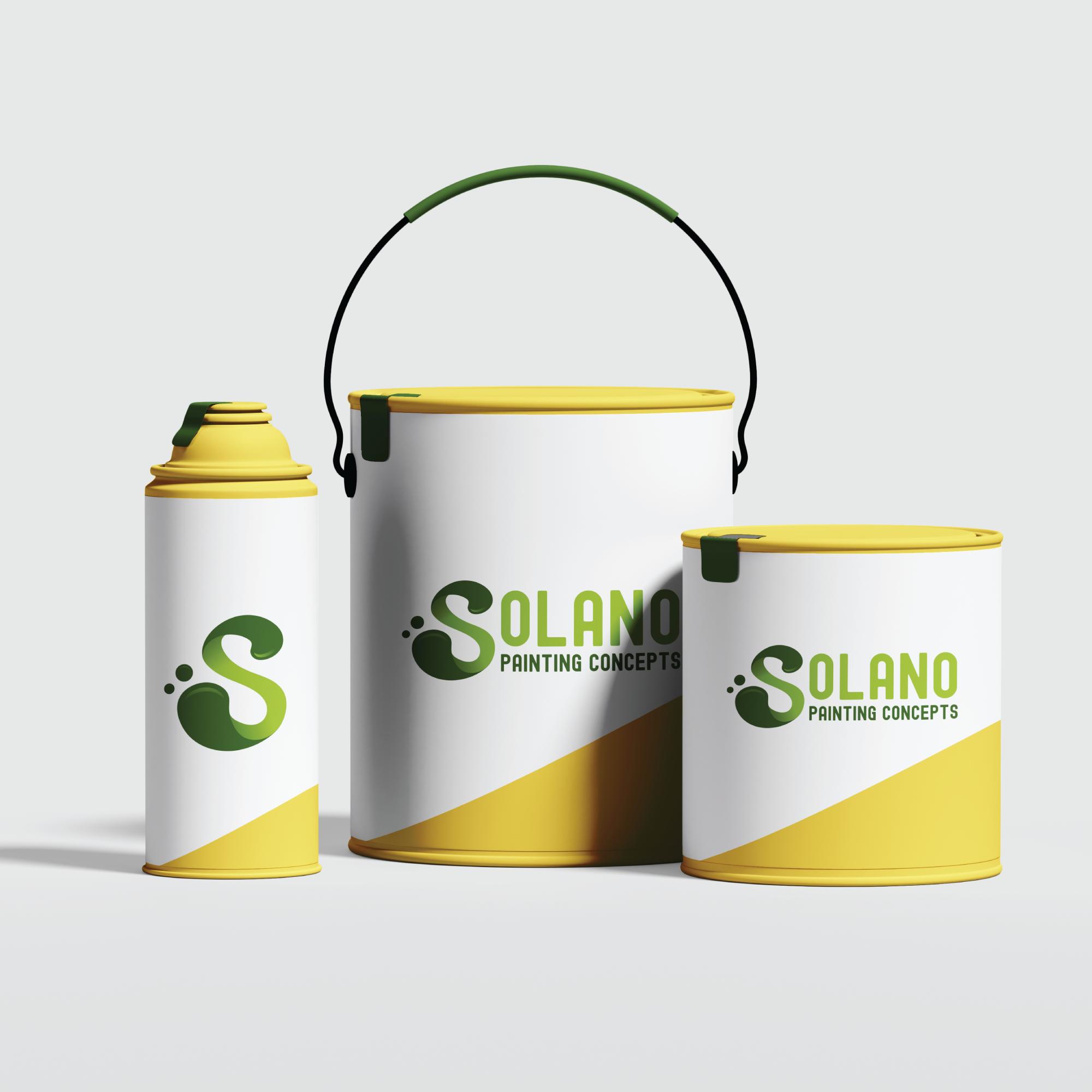 Paint Brand Paint Can Mock Ups Paint Brands Painting Logo Branding Design