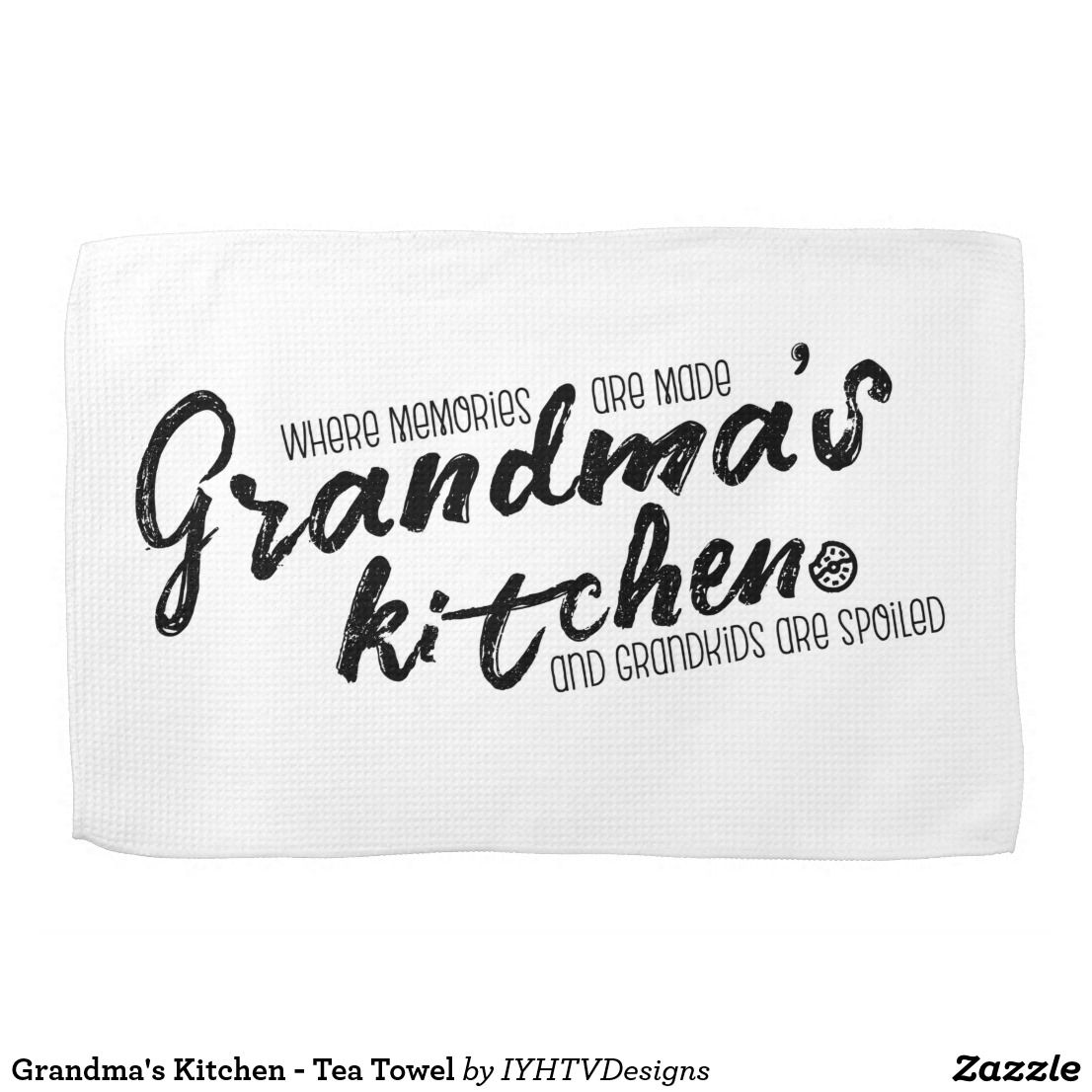 Grandma\'s Kitchen - Tea Towel | Towels