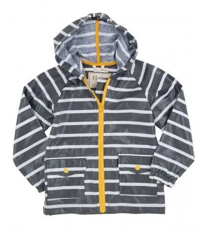 Navy & Yellow Boys Raincoat