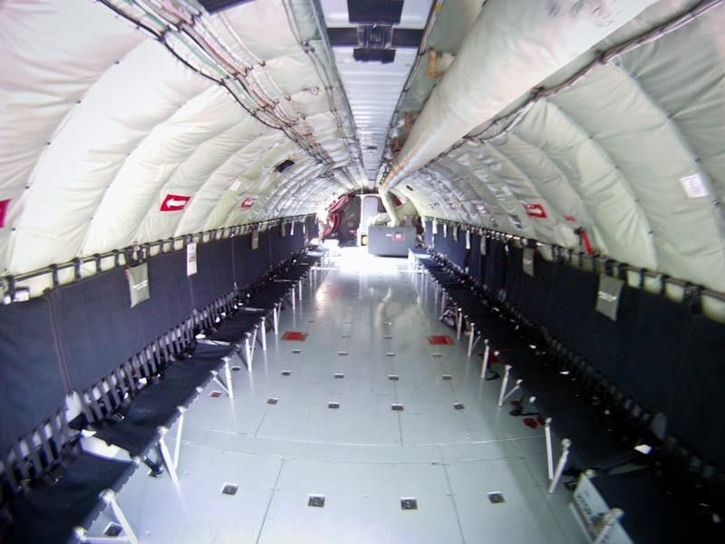 Kc 135 Cargo Bay When Did They Get So Bright And Shiny All I