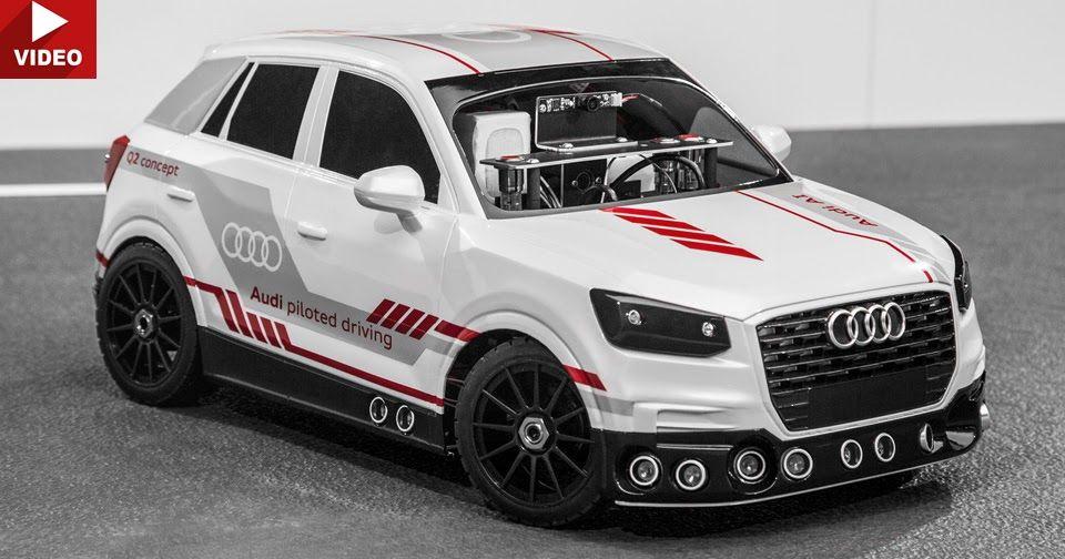 Audi Q2 Scale Model Demonstrates Intelligent Automatic Parking System #Audi #Audi_Concepts