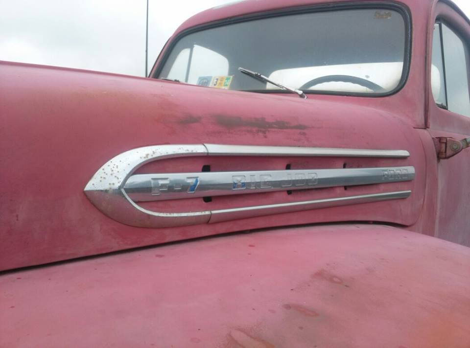 1951 Ford F7