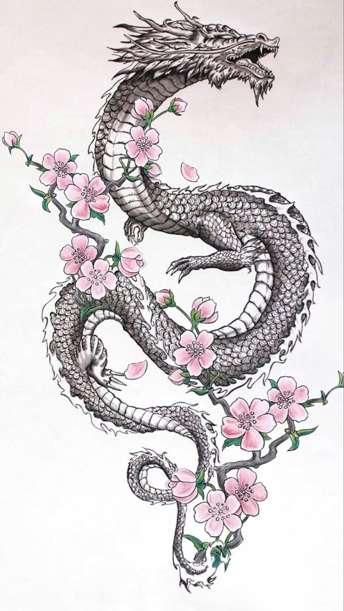 Tatuirovki Moi Idei In 2020 Dragon Sleeve Tattoos Japanese Dragon Tattoos Dragon Tattoo Designs