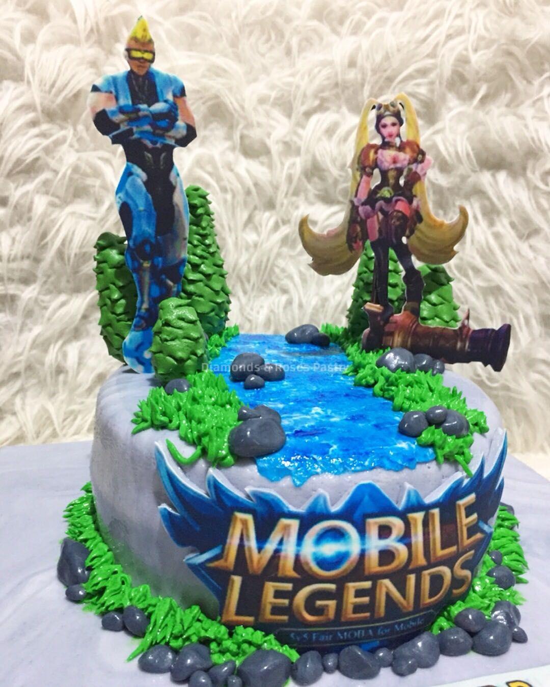 birthday cake mobile legends cake design 2 Koleksi Potret Mobile Legends Cake Paling  Cake designs for