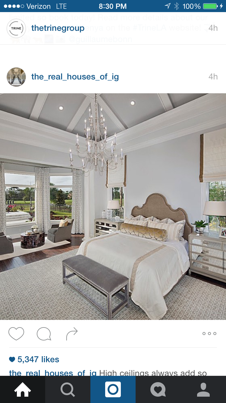 High ceilings always add so much grandness