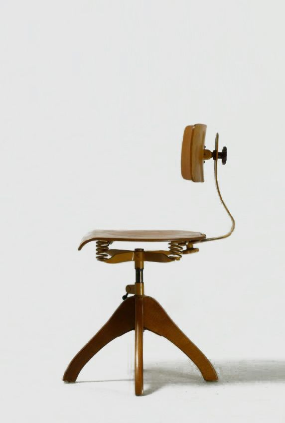 polstergleich wooden architects swivel chair style industrial in rh pinterest com