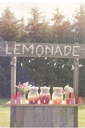 Rustic wedding lemonade stand brides of adelaide beach rustic wedding lemonade stand brides of adelaide junglespirit Gallery