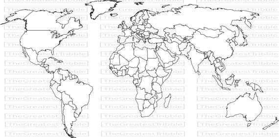Weltkarte Weltkarte Eps Svg Png Jpg Vektorgrafik Clipart Etsy World Map Printable World Map Coloring Page World Map Template