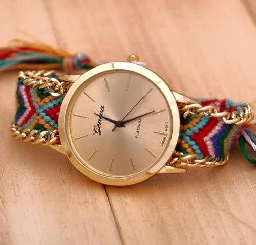 wristwatch arrival women bracelet quartz rope handmade new product casual braided online for watches sale thread knitting colorful geneva