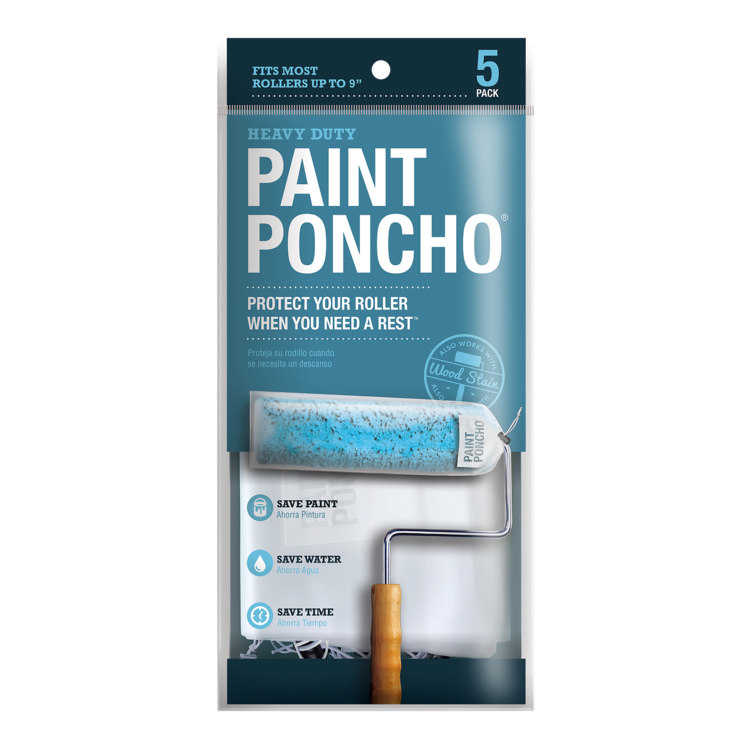 Allway Paint Poncho Roller 5pk Paint Brushes And Rollers Roller Painting Projects