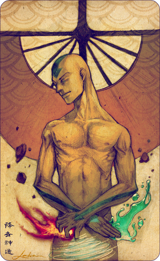 Avatar the Last Airbender - Avatar Aang by =ABRZA on deviantART