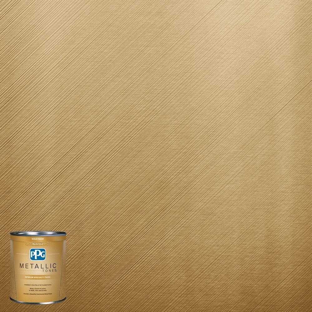 PPG METALLIC TONES 1 qt.#MTL137 Gilded Gold Metallic Interior ...