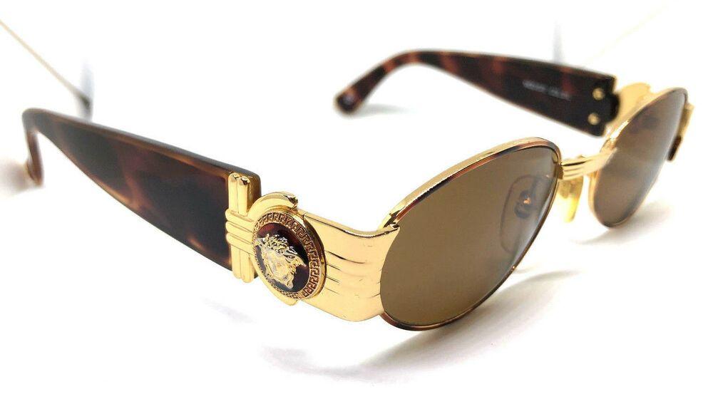 5320dd68c7d Gianni Versace Mod.S72 Col.31L Gold with Case. Vintage Sunglasses Migos  Medusa #affilink #vintagesunglasses #vintage
