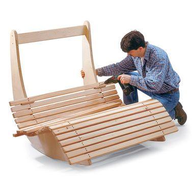 Saunaliege aus Holz   Relaxliege, Holz und Gärten