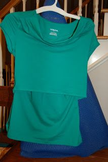 Sewing Tutorial For Nursing Breastfeeding Top From Two Ready To Wear Shirts Sewing Tutorial Diy Nursing Clothes Breastfeeding Tops Nursing Shirts