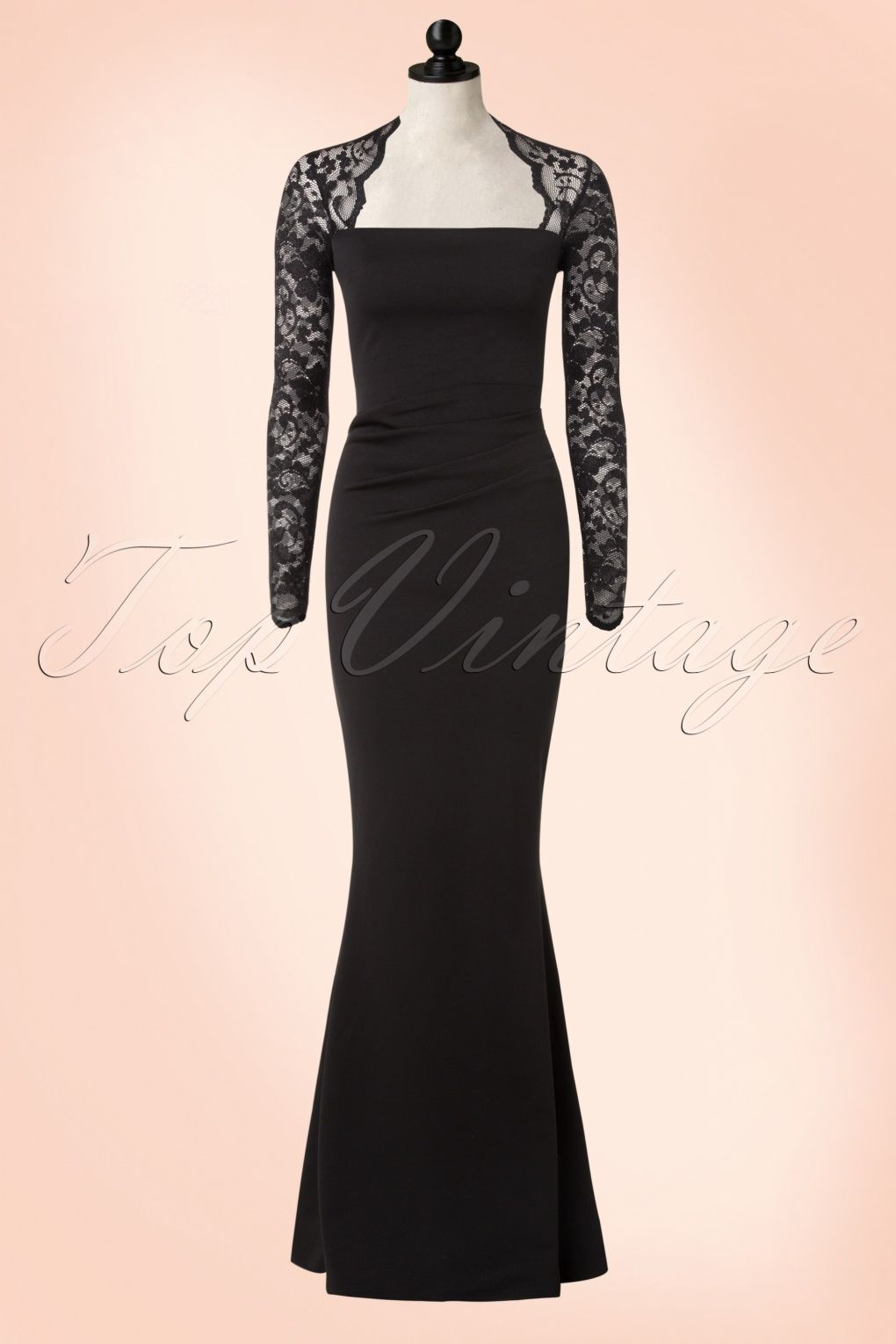 S isolde lace maxi dress in black kleider pinterest lace