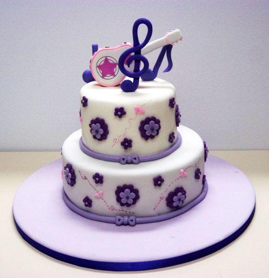 Tortas de violetta para cumpleaños de 10 años - Imagui | tortas ...