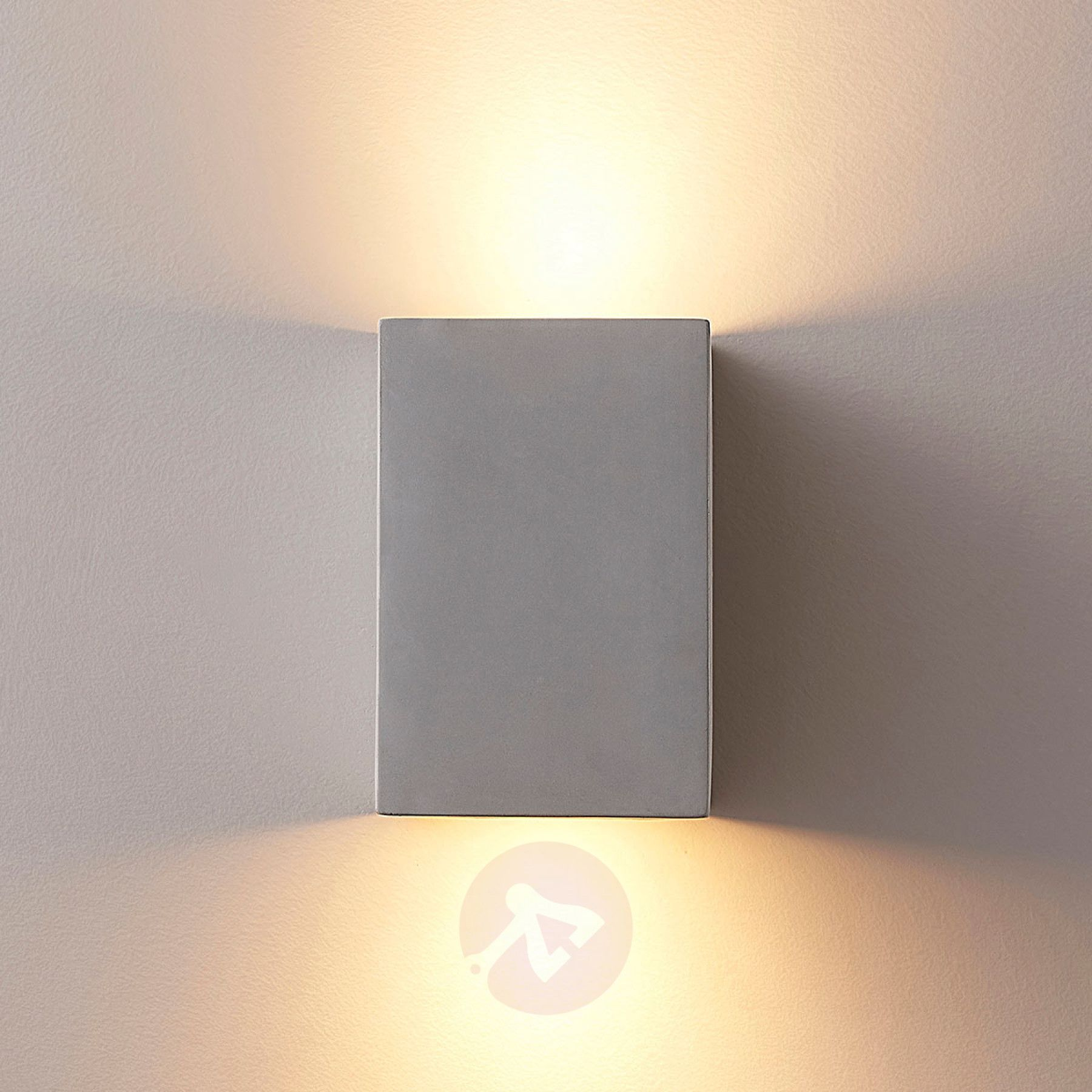 Gerda 2 Flammige Gu10 Wandlampe Aus Beton Zepfenhaus In 2019 Wall Lights Lighting Wall