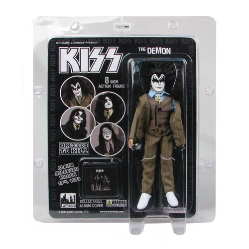 KISS Demon Dressed To Kill Color Suit 8-Inch Action Figure #Action-figures