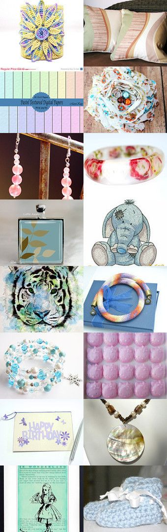 Pastels by Elissa Haque on Etsy--Pinned with TreasuryPin.com