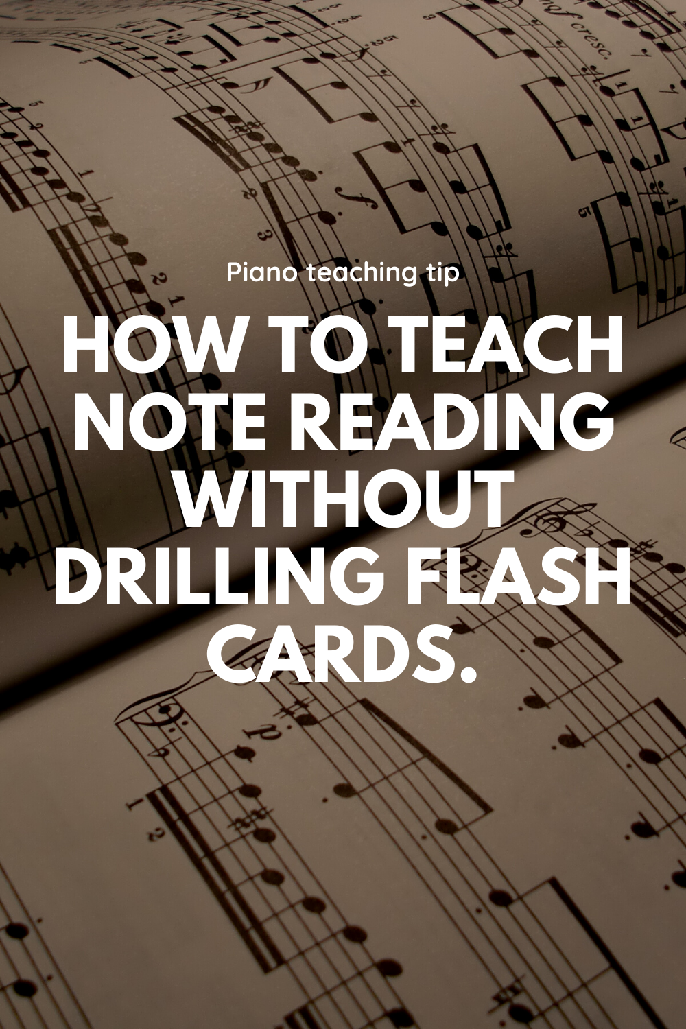 """While you may have some """"flashcard junkies"""" who can rattle off an entire pack without a mistake, you may also have some students who struggle and stammer through the set. For these students, either put the deck of flashcards away or find an alternate use beyond drill, drill, drill. Here are 8 ideas for how to teach note reading without them.While #you #may #have #some #""""flashcard #junkies"""" #who #can #rattle #off #an #entire #pack #without #a #mistake, #you #may #also #have #some #students #who #"""