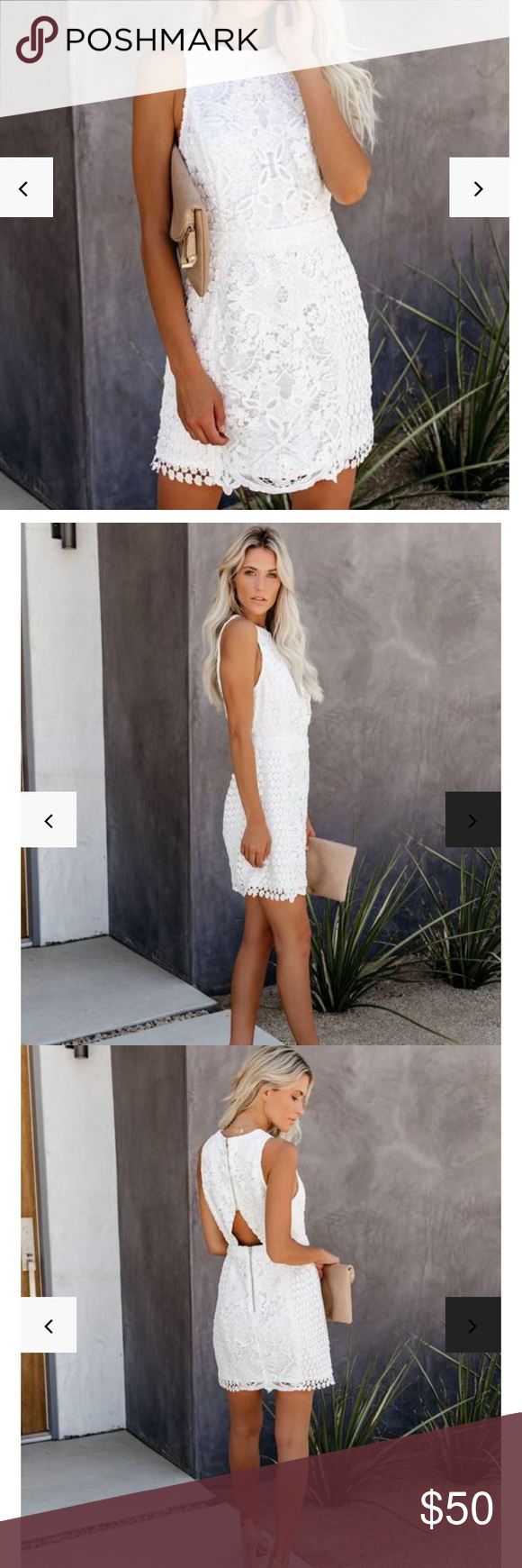 Vici Collection White Lace Overlay Dress Vici Collection White Lace Overlay Dress With Small Cutout In Back Vici Dresses Lace Overlay Dress Dresses Vici Dress [ 1740 x 580 Pixel ]