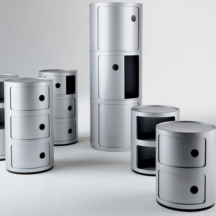 Kartell storage, to meet various needs of use and live in any environment in the home or in the office