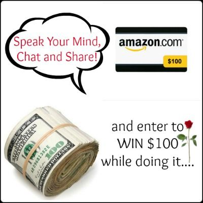 Let S Talk Money Giveaway 100 Amazon Gc Or Paypal Cash To Be