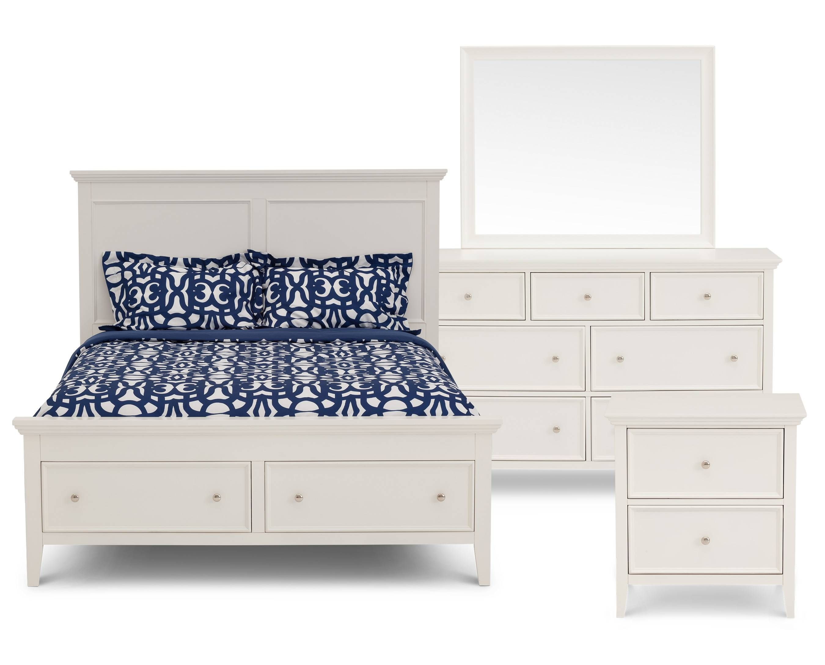 Abbott Storage Panel Bedroom Set - $12,12  Bed furniture, Living