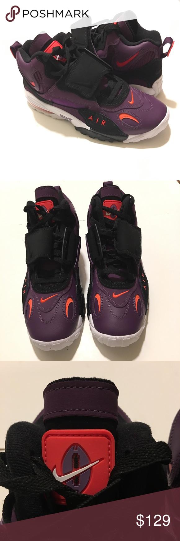 e7f21a2384334 Nike Air Max Speed Turf Purple/Crimson Siz 10.5 No lids on box Nike ...