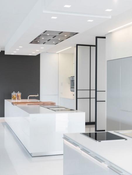 Villa chameleon luxury kitchen design luxury kitchens for Minimalist villa design