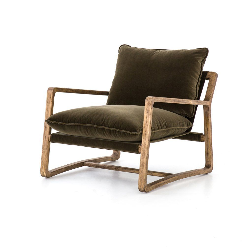 Ace chair in olive green olive armchair green accent