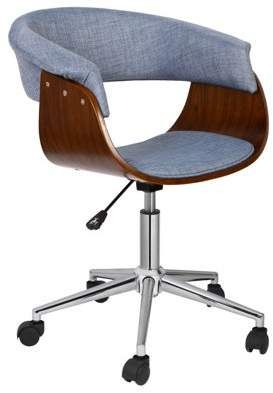 Groovy Porthos Home Office Chair Deluxebentwood Styleoffice Chairs Home Interior And Landscaping Ologienasavecom