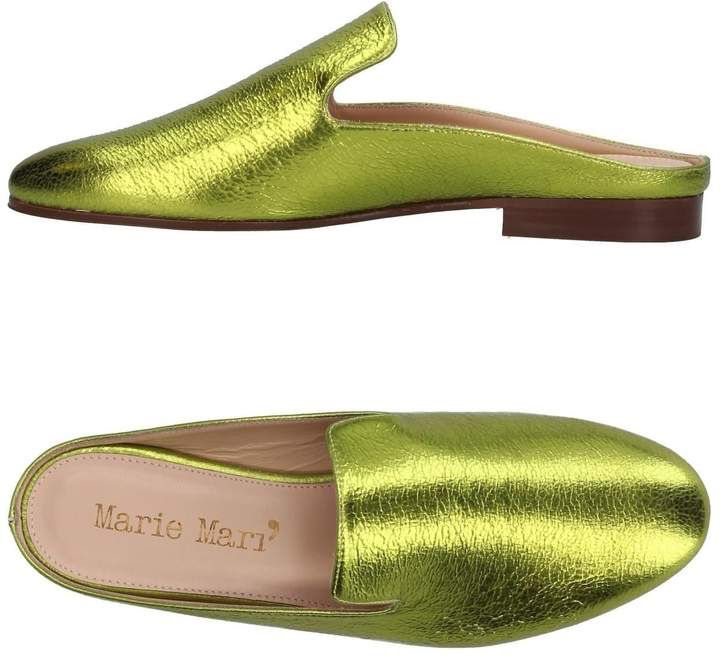 MARIE MARÍ Open-toe mules cheap brand new unisex zQmcZECO7F
