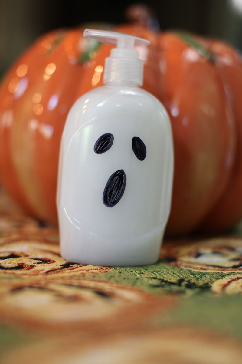 Ghost soap i just peeled the label off a cvs bottle of soap then
