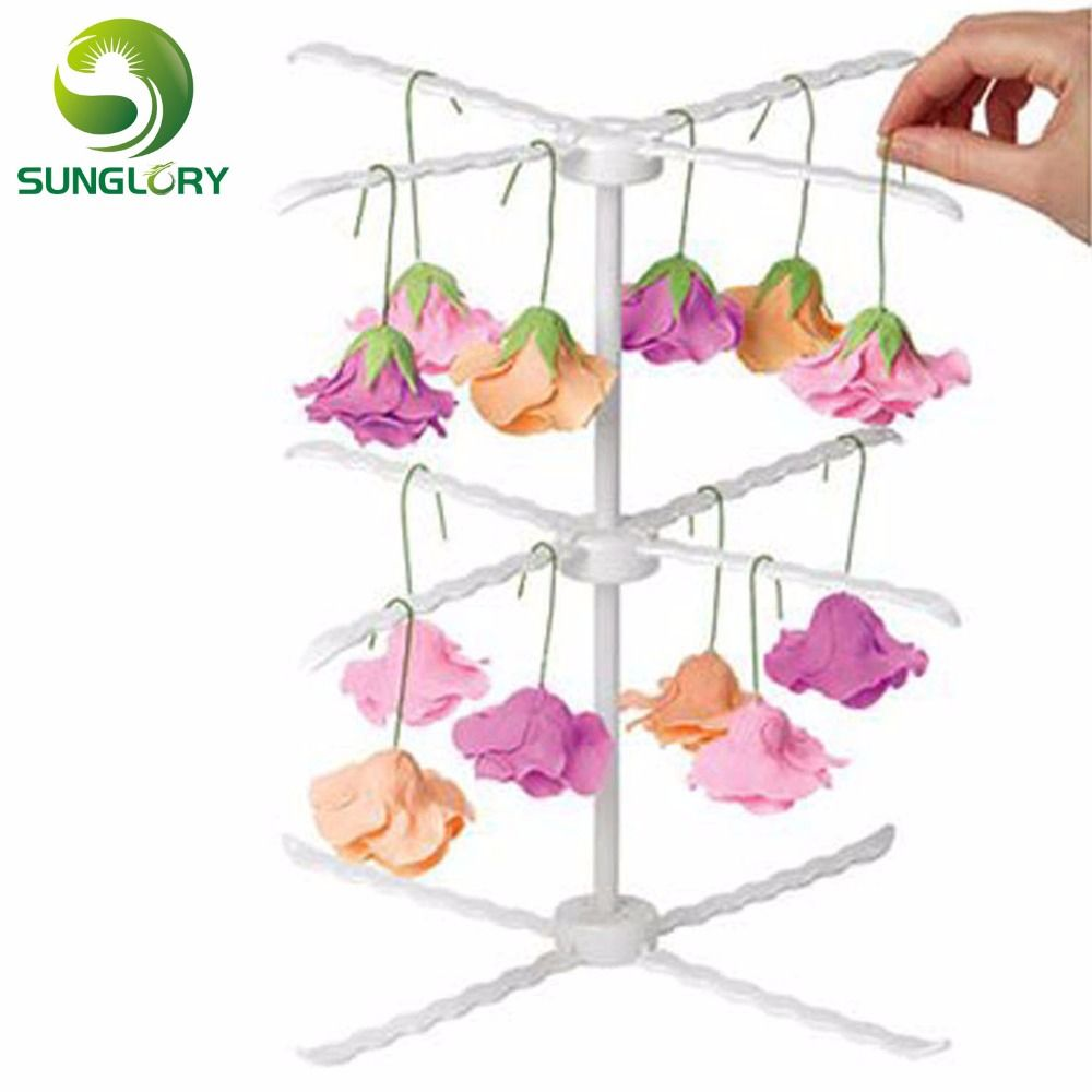 Plastic cake decorating sugar craft fondant diy 31cm detachable 3 plastic cake decorating sugar craft fondant diy 31cm detachable 3 layers gum paste flower drying rack izmirmasajfo