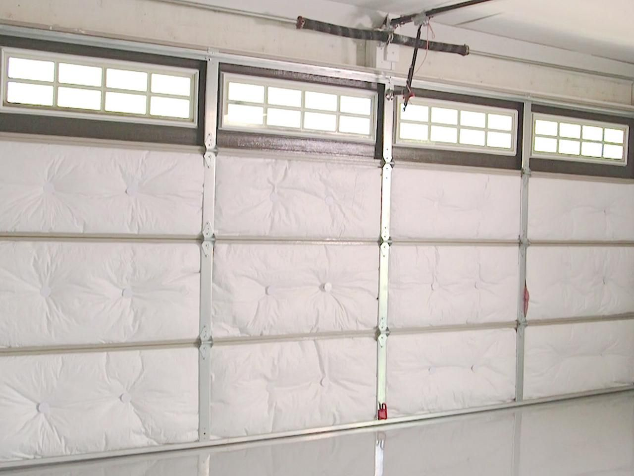 Carriage garage doors without windows  How to Insulate a Garage Door  Garage doors Insulation and Doors