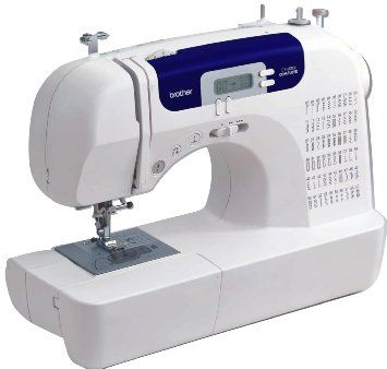 Amazon.com: Brother CS6000i Feature-Rich Sewing Machine With 60 Built-In Stitches, 7 styles of 1-Step Auto-Size Buttonholes, Quilting Table,...