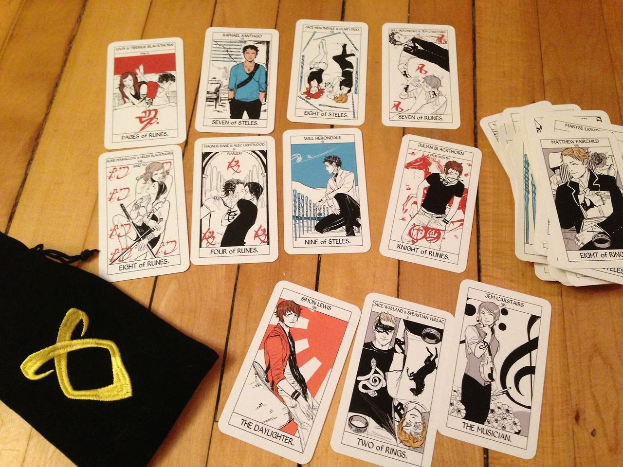 Cassandra jeans tarot cards have been printed they will