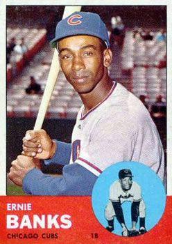 The Trading Card Database 1963 Topps Baseball Gallery Baseball Cards Old Baseball Cards Baseball