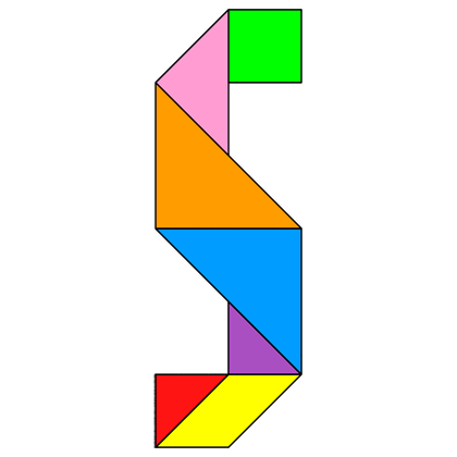 tangram letter s tangram solution 76 providing teachers and pupils with tangram puzzle