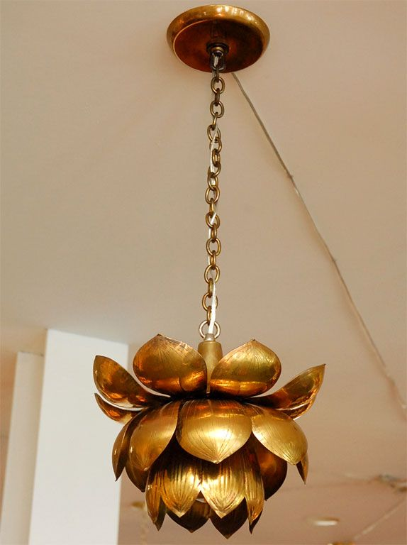 Brass lotus chandelier lotus chandeliers and brass chandelier brass lotus chandelier aloadofball Image collections